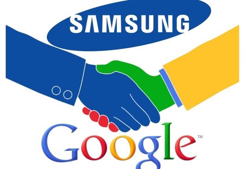 معامله میلیاردی سامسونگ و گوگل